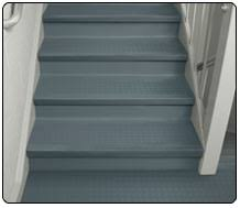 redondo one piece stair treads u0026 landing tile r c a rubber co