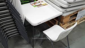 lifetime childrens folding table 53 kids table and chairs costco 100 kids wooden tables and chairs