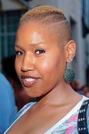 women natural hair cut with a fade blonde fade black women natural hairstyles