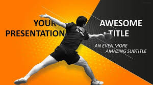 sports table tennis powerpoint template sports powerpoint