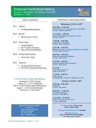 enterprise florida board book september 2012 meeting revenue