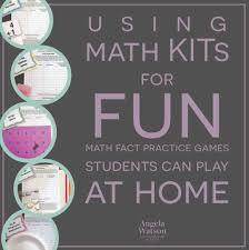 math kits for fun math fact practice games students can play at home
