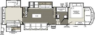 Montana Fifth Wheel Floor Plans Sierra Fifth Wheels By Forest River Rv Camper Floor Plans