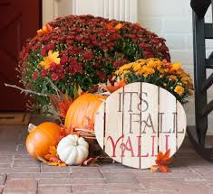 Front Porch Fall Decorating Ideas - front porch fall decor the chic site