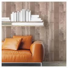 devine color reclaimed wood peel u0026 stick wallpaper twig and buck