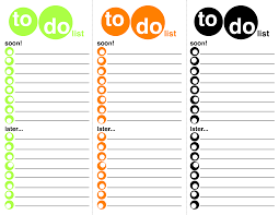 Todo List Template Excel To Do List Template Free To Do List