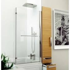 bathroom cool small bathroom with l shaped bath ideas sipfon this is practical shower bath solution with acrylic bath tub in white accent and l shape bath tub screen there are multi functional bath tub at small