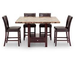 Counter Height Tables Furniture Row - Countertop dining room sets