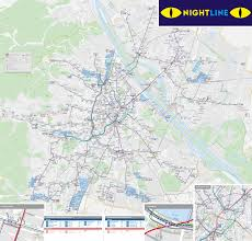 map of vienna map of vienna nightline stations lines