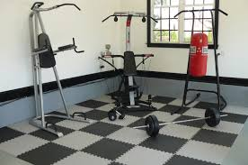 Gym Flooring For Garage by Best Interlocking Mats For Your Exercise Room Floor Optimum Fitness