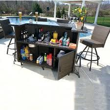 stylish patio furniture bar modern outdoor sets babmar attractive
