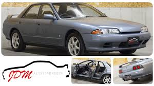 nissan skyline jdm import 1990 nissan skyline gts t 4 door jdm auto imports llc youtube