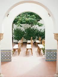 wedding arches san diego san diego villa wedding the white wren
