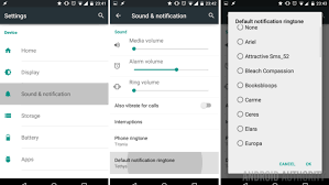 notification settings android how to change notification sounds on your android device android