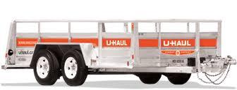Uhaul Estimated Cost by U Haul 6x12 Utility Trailer Rental