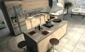 cuisine avec ilot central evier ilot central cuisine avec evier cuisine beton befuhp leger minjpg