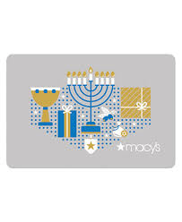 hanukkah gift cards happy hanukkah gift card with letter gift cards macy s