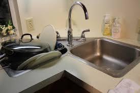 delectable corner sink design ideas features double bowls corner