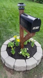 l post ideas landscaping mailbox garden ideas dunneiv org