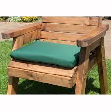 Garden Chair Seat Cushions Charles Taylor Green Seat Pad Cushion U2013 The Uk U0027s No 1 Garden