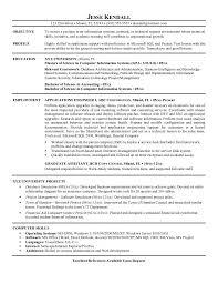 application engineer sample resume professional application