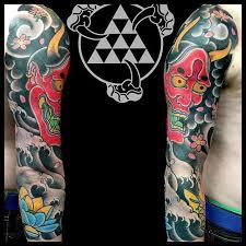 striking japanese sleeve tattoos by rhys gordon tattoodo