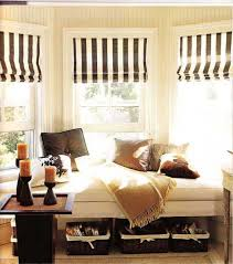 Bay Window Decorating Ideas Blending Functionality With Modern - Interior design ideas curtains