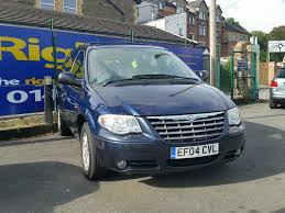 used chrysler voyager cars for sale motors co uk