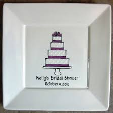 bridal shower autograph plate 36 best bridal shower pottery party images on pottery