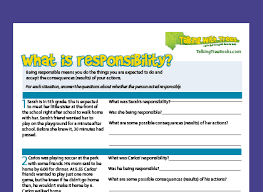 character education worksheets talking with trees books