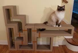 Cat Scratcher Katris Modular Cardboard Cat Scratcher Furniture Review