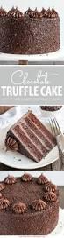 chocolate truffle cake συνταγή