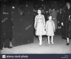 princess elizabeth and her sister princess margaret 1940 arrive at