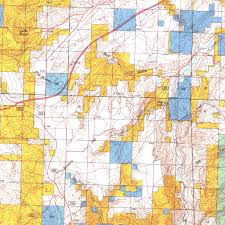 Wy Map Baggs Wy Blm Surface Mgmt Digital Data Services Inc