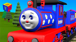 learn to count to 10 with choo choo train educational cartoon for