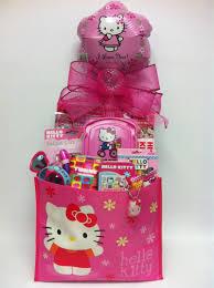hello gift basket hello tote bag for