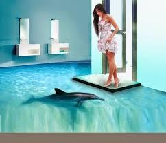 bathroom floor design ideas awesome 3d flooring and 3d bathroom floor murals home design
