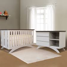 White Convertible Crib Sets by Eden Baby Madison 2 Piece Nursery Set 3 In 1 Convertible Crib