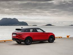 White Range Rover With Red Interior Land Rover Range Rover Velar 2018 Pictures Information U0026 Specs