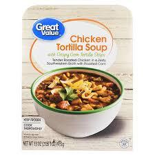 cooking light chicken tortilla soup great value chicken tortilla soup with crispy corn tortilla strips