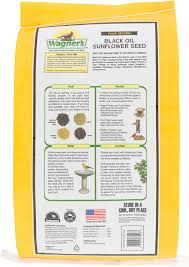 wagner u0027s four season 100 black oil sunflower seed wild bird food