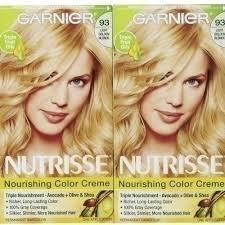 garnier nutrisse 93 light golden blonde reviews garnier nutrisse haircolor 93 light golden blonde honey butter by