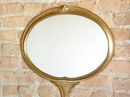 hand mirror shaped wall mirror for sale at 1stdibs