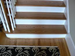 Hardwood Flooring On Stairs Stair Tread Styles Resources