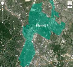 Austin City Council District Map by The Shaping Of District 7 U2013 An Allandale Perspective Austin