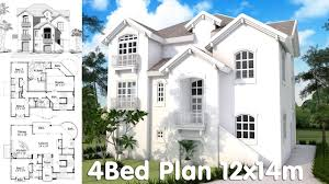 home design small house plans 1 story with 4 bedrooms one all