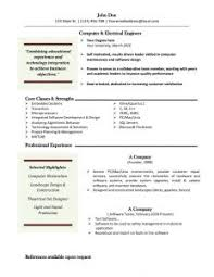 Ms Word Resume Template Free Resume Template Download For Word Resume Template And