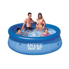 Intex Inflatable Pool Intex Recreation 8ft X 30in Easy Set Pool 28110eh Pools Ace
