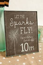 sparklers for weddings make these adorable wedding sparkler tags sign for free