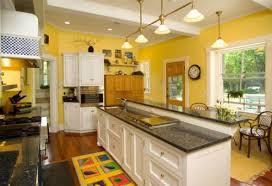 Yellow And White Kitchen Ideas White Kitchen Yellow Walls Morespoons 195170a18d65